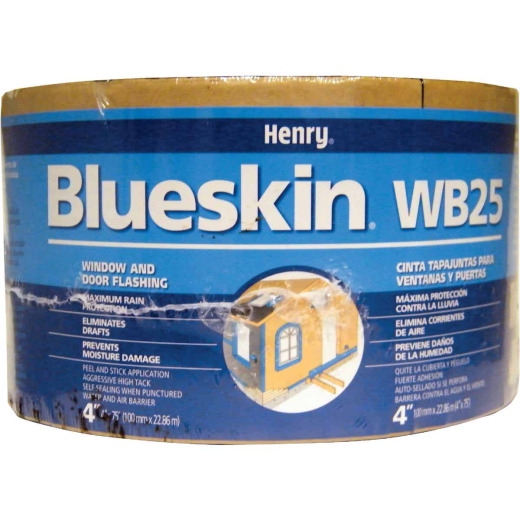Henry Blueskin WB25 4 In. X 75 Ft. Window Wrap & Flashing Tape