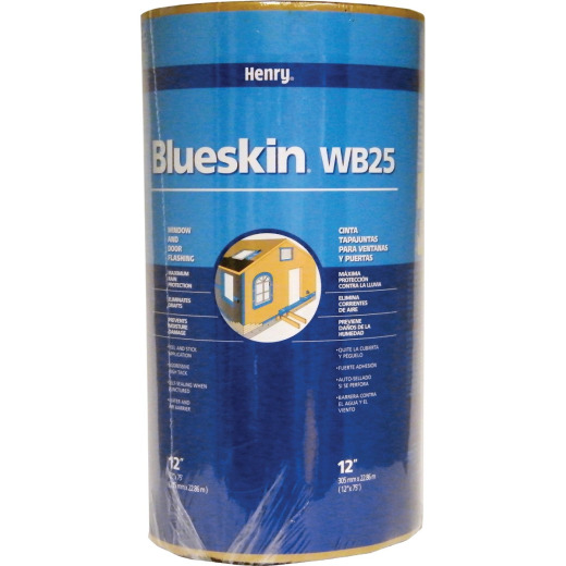 Henry Blueskin WB25 12 In. X 75 Ft. Window Wrap & Flashing Tape