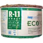 Knauf R-11 15 In. x 40 Ft. Greenguard Kraft Faced Roll Fiberglass Insulation Image 1