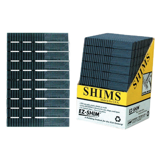 EZ Shim 8 In. L Bulk Plastic Shims (36-Count)