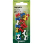 Hillman Anchor Wire Assorted Color Push Pins (16-Count) Image 2