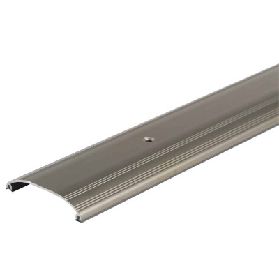 "M-D Ultra Low Dome Top 72"" L x 3-1/2"" W x 5/8"" H Satin Nickel Threshold"