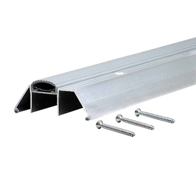"M-D AP150 Series 36"" L x 3-3/4"" W x 1-1/2"" H Aluminum Threshold"