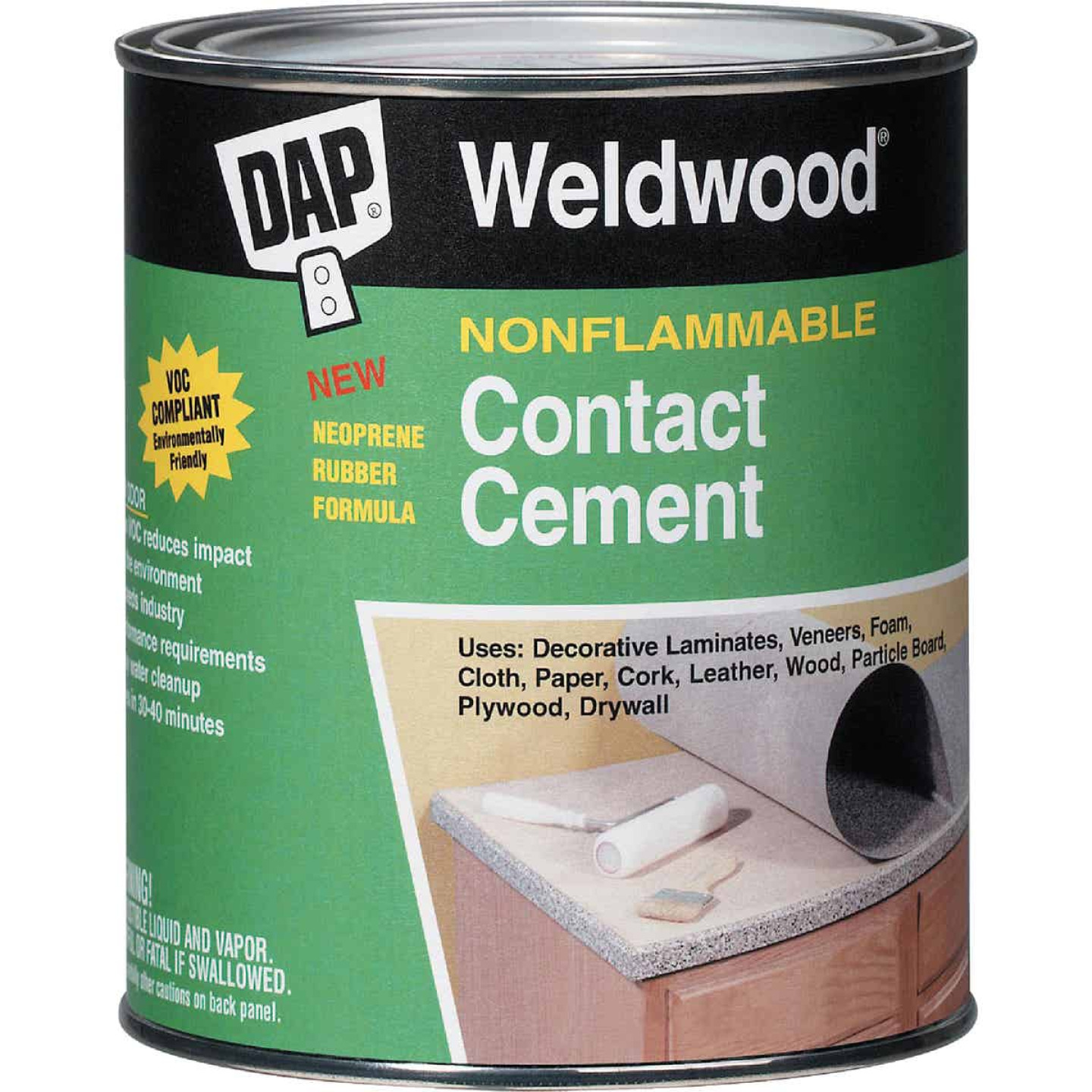 DAP Weldwood Gal. Nonflammable Contact Cement Image 1
