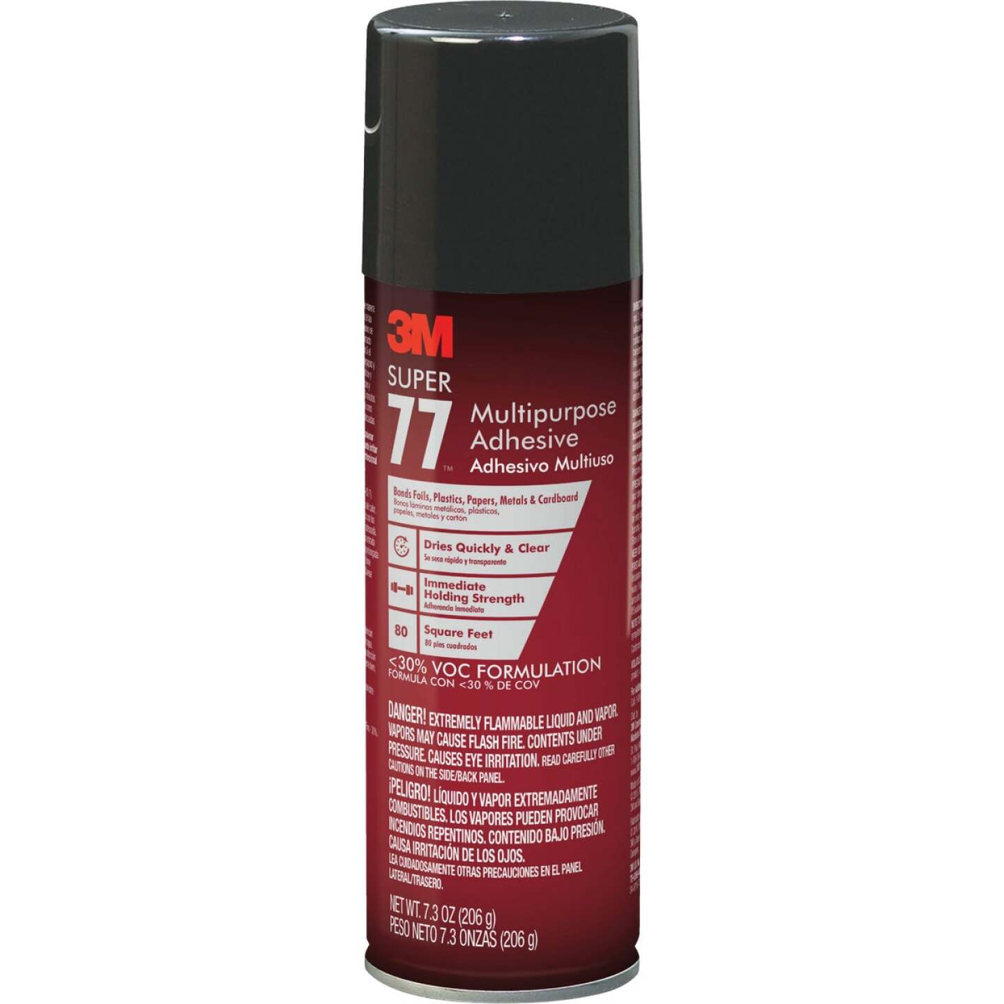 3M Super 77 7.3 Oz. Multipurpose Spray Adhesive (California Compliant) Image 1