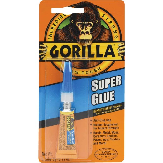 Gorilla 0.11 Oz. Liquid Super Glue