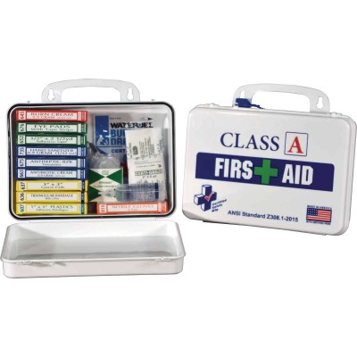 Certified Safety Class A ANSI & OSHA Certified First Aid Kit (82-Piece)