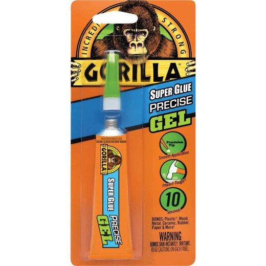 Gorilla 0.53 Oz. Super Glue Precise Gel