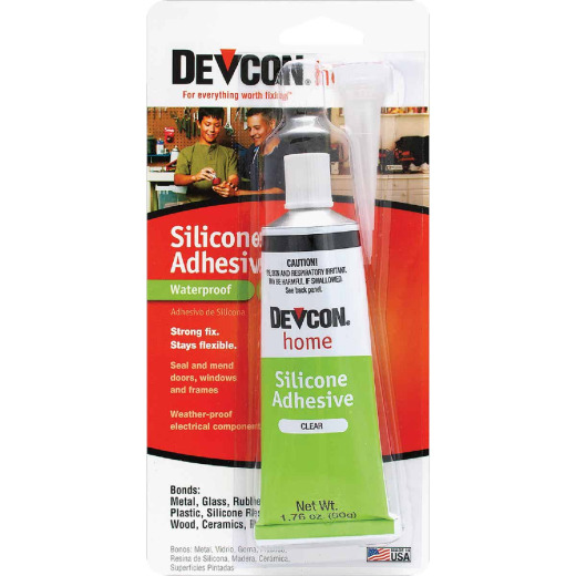 Devcon 1.76 Oz. Clear Silicone Adhesive