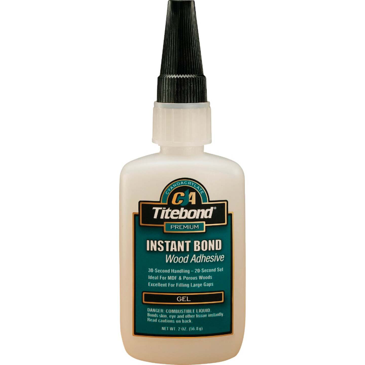 Titebond 2 Oz. Instant Bond Gel Viscosity CA Wood Glue Image 1