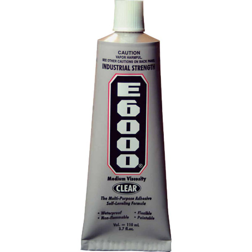 E6000 3.7 Oz Industrial Multi-Purpose Adhesive