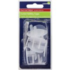 Leviton Clear Plastic Safety Outlet Plug (12-Pack) Image 2