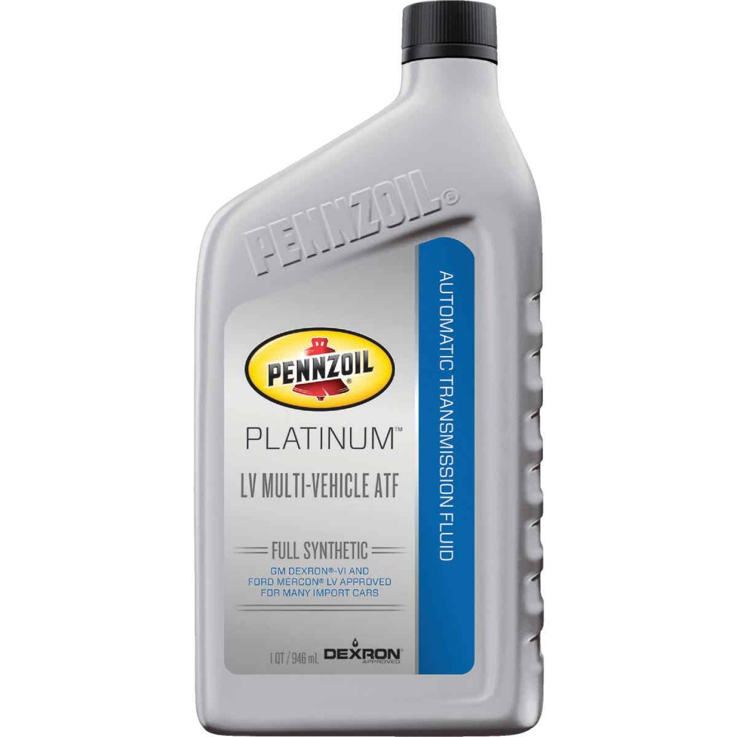 Pennzoil Platinum LV 1 Qt. Multi-Vehicle Automatic Transmission Fluid Image 1