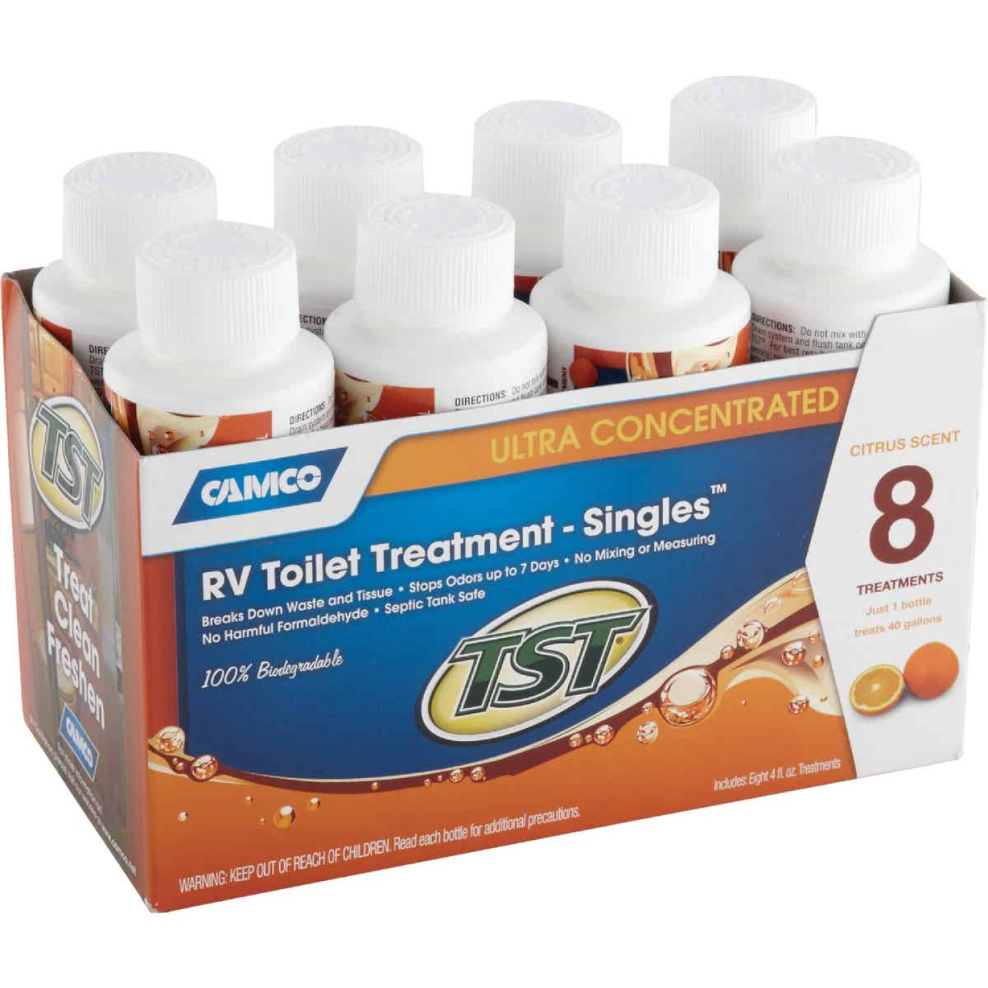 TST Ultra Concentrated RV Tank Treatment Singles, 4 Oz., (8-Pack) Image 2