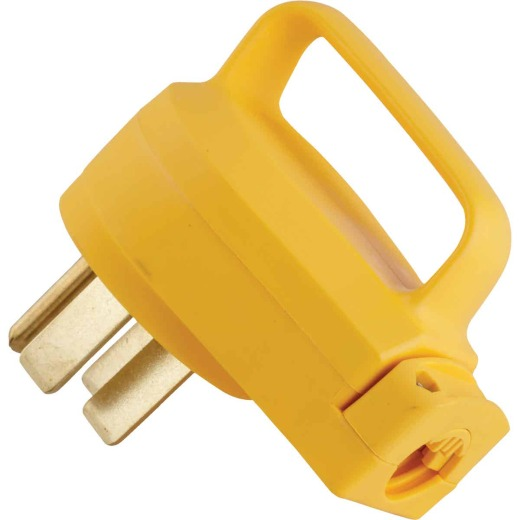 Camco PowerGrip 50A Male Replacement RV Plug