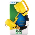 Camco PowerGrip 15A/30A Dogbone RV Power Cord Adapter Image 2