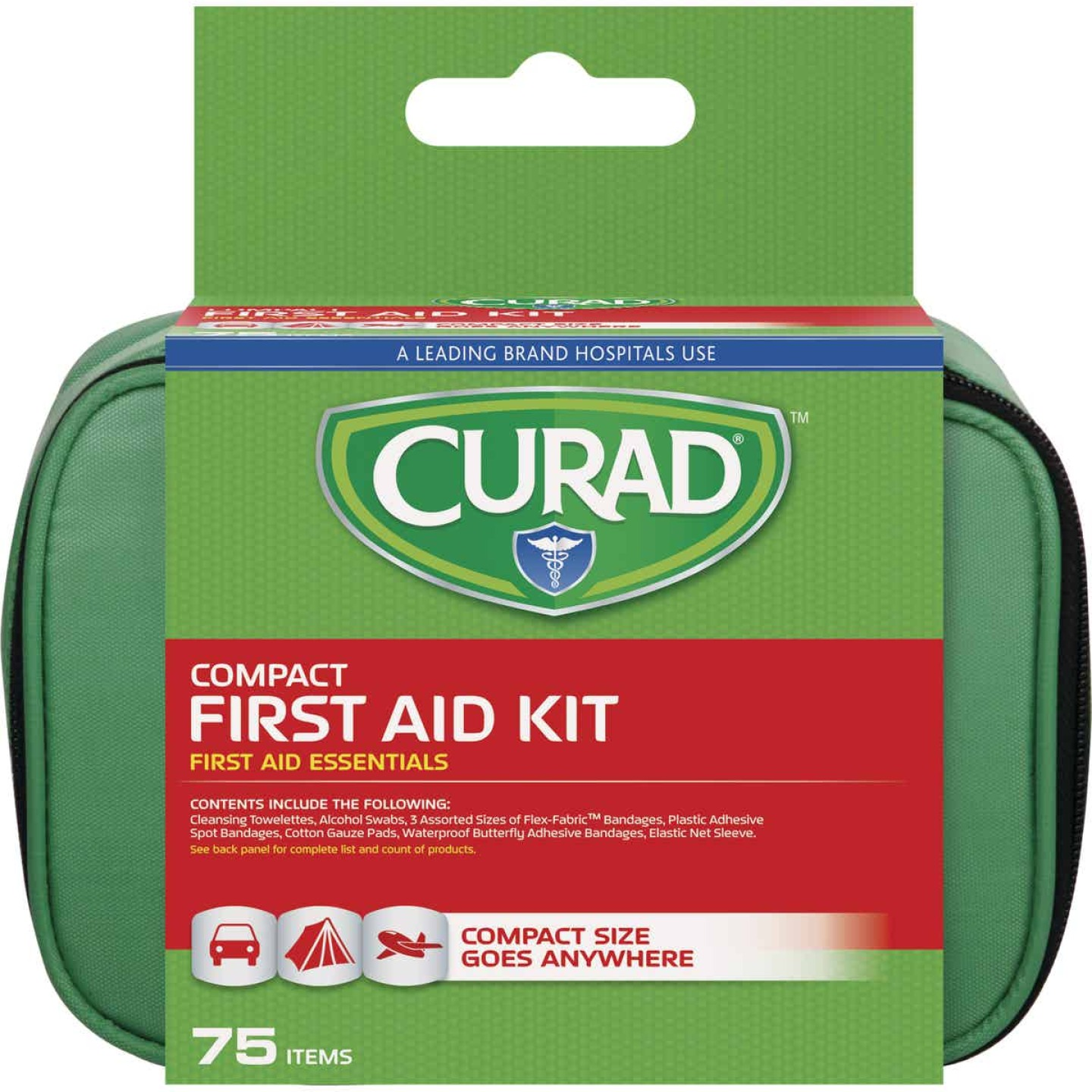 Curad Compact First Aid Kit (75-Piece) Image 1