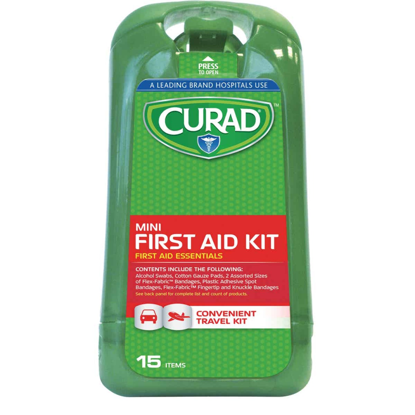 Curad Mini First Aid Kit (15-Piece) Image 1