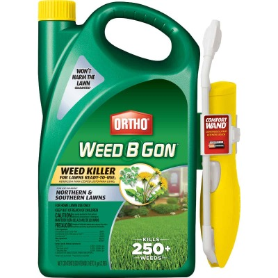 Ortho Weed-B-Gon 1 Gal. Ready To Use Wand Sprayer Weed Killer For Lawns
