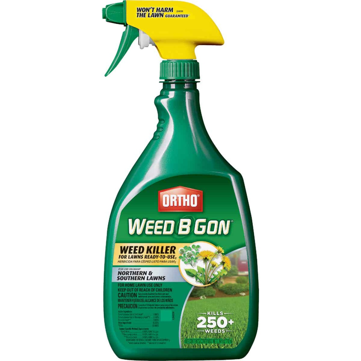 Ortho Weed-B-Gon 24 Oz. Ready To Use Trigger Spray Weed Killer For Lawns Image 1