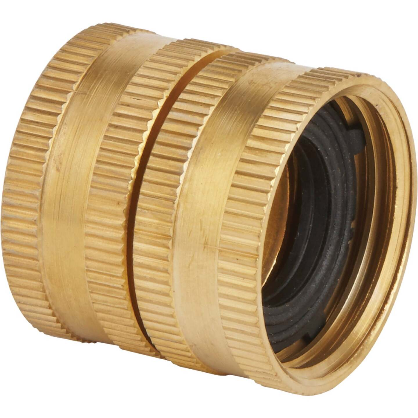 Best Garden 3/4 In. FNH x 3/4 In FNH Brass Swivel Hose Connector Image 1
