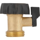 Best Garden Brass Single Hose Shutoff Image 3