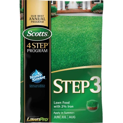 Scotts 4-Step Program Step 3 37.70 Lb. 15,000 Sq. Ft. 32-0-4 Lawn Fertilizer with 2% Iron