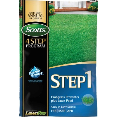 Scotts 4-Step Program Step 1 40.28 Lb. 15,000 Sq. Ft. 28-0-7 Lawn Fertilizer with Crabgrass Preventer