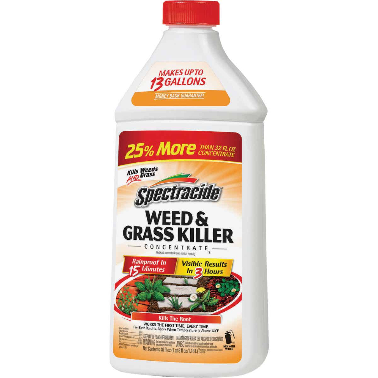 Spectracide 40 Oz. Concentrate Weed & Grass Killer Image 1