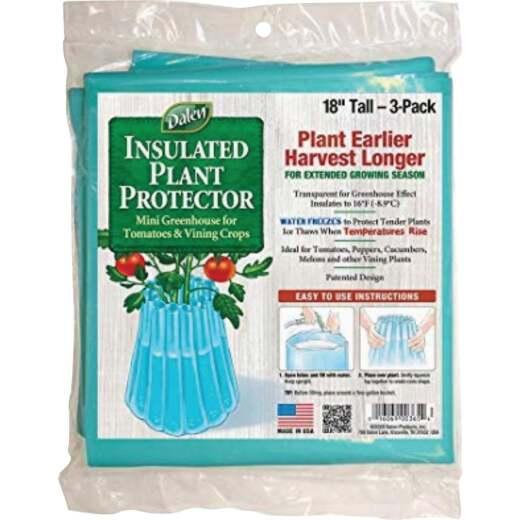 Gardeneer Season Starter 18 In. L. x 17 In. W. Plastic Plant Protector