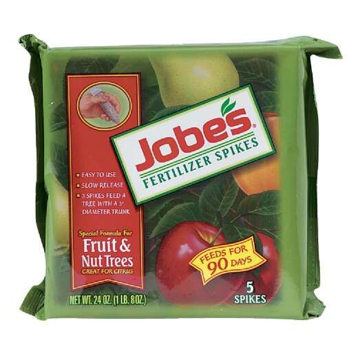 Jobe's 9-12-12 Fruit & Nut Tree Fertilizer Spikes (5-Pack)