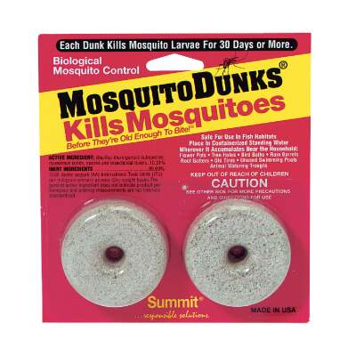 Mosquito Dunks Ready To Use Tablet Mosquito Killer (2-Pack)