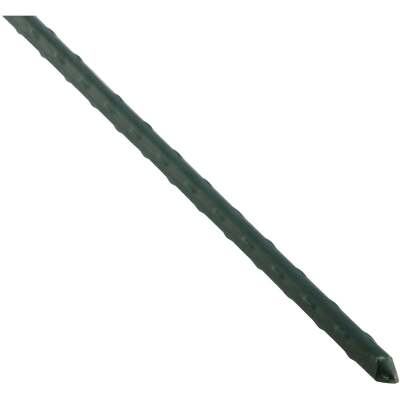 Best Garden 2 Ft. Green Steel Plant Stake