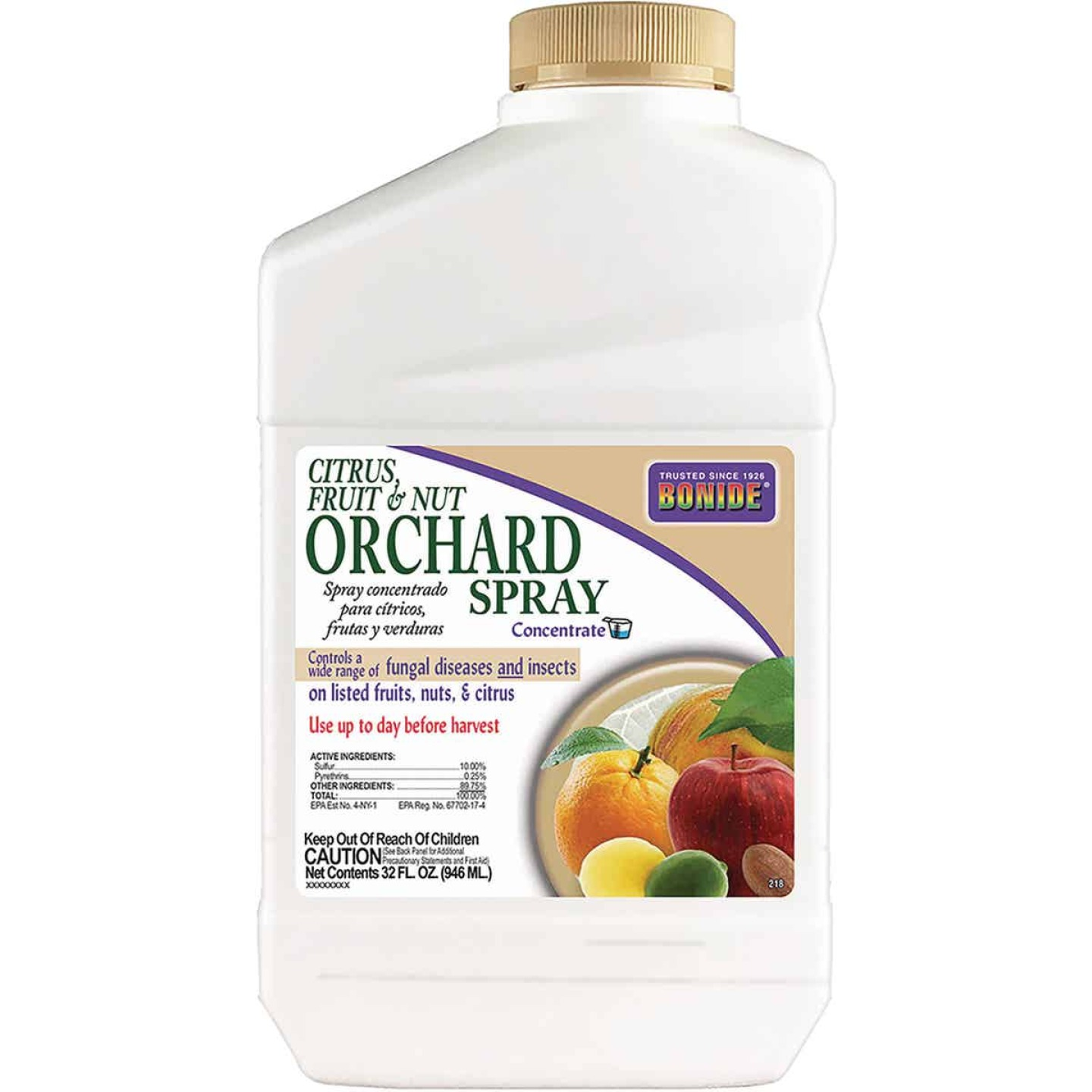 Bonide 32 Oz. Concentrate Orchard Spray Fruit Tree Insect & Disease Killer Image 1