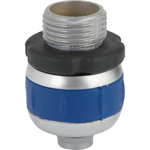 Best Garden 5/8 In. Male Metal Compression Hose End Repair Hose Coupling