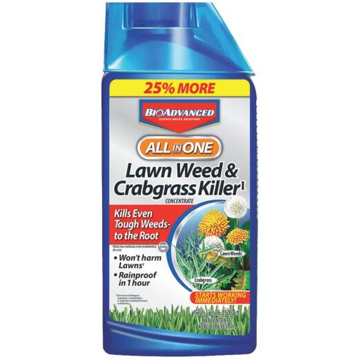 BioAdvanced All-in-1 32 Oz. Concentrate Crabgrass & Weed Killer