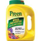 Preen 5.625 Lb. Ready To Use Granules Garden Weed Preventer Plus Plant Food Image 1