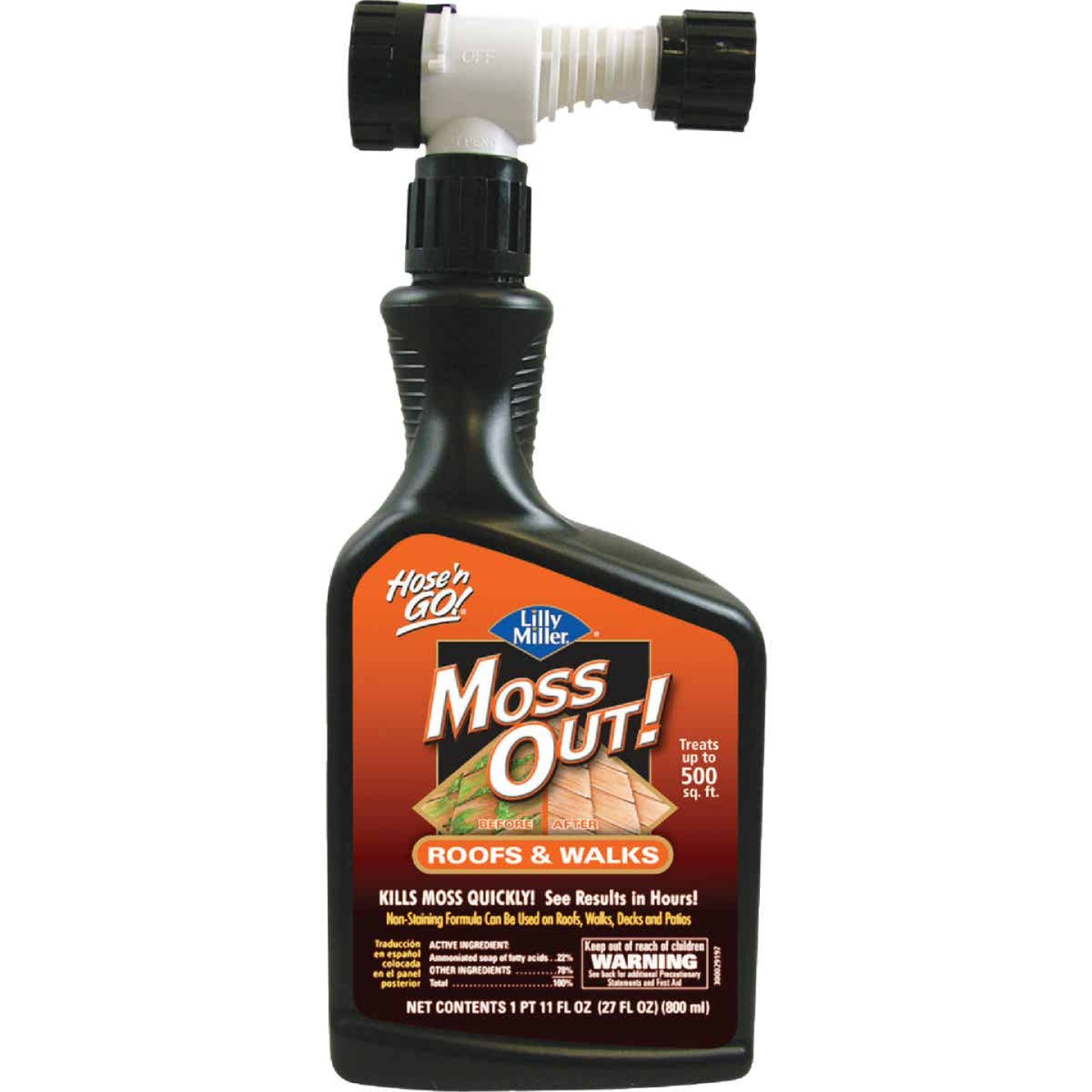 Lilly Miller MOSS OUT! 27 Oz. Ready To Spray Moss & Algae Killer Image 1