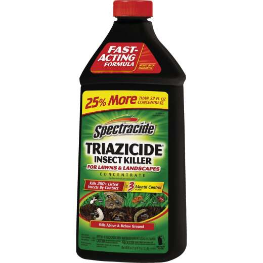 Spectracide Triazicide 32 Oz. Concentrate Insect Killer For Lawns & Landscapes
