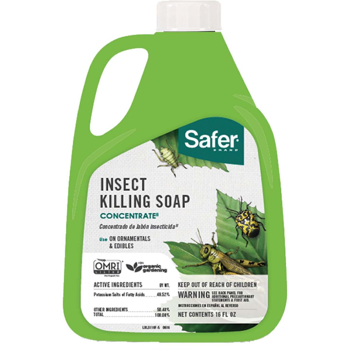 Safer 16 Oz. Concentrate Insecticidal Soap Insect Killer Image 1