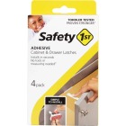 Safety 1st Adhesive Cabinet & Drawer Lock & Latch (4-Pack) Image 3
