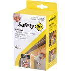 Safety 1st Adhesive Cabinet & Drawer Lock & Latch (4-Pack) Image 2